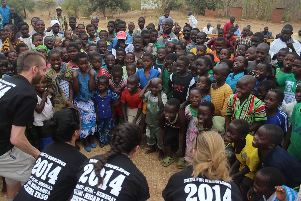 Malawi Schulprojektebau 2014